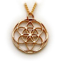 The Seed of Life, 14K Gold