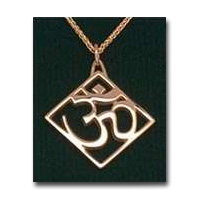 The AUM, 14K Gold