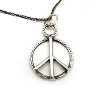 The Peace Symbol - Sterling Silver