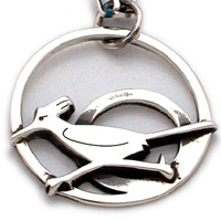 The Road Runner, Sterling Silver